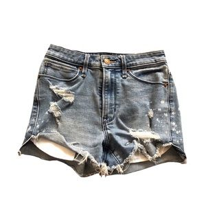 Abercrombie and Fitch Simone high rise jean shorts